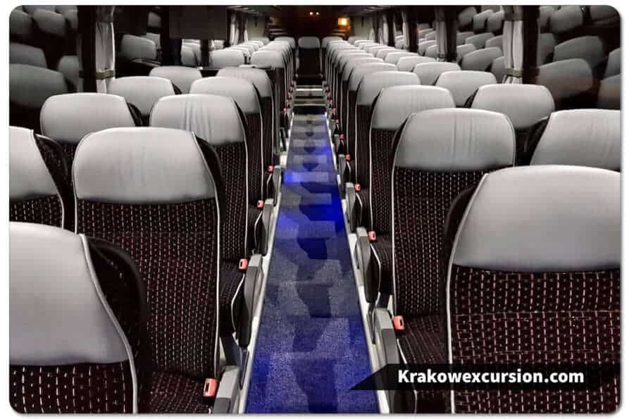 Coach hire Poland Krakow 50-seater