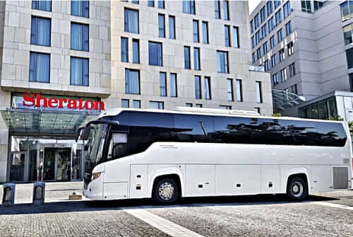 Coach hire Krakow Poland
