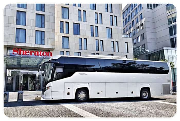 Coach hire Sheraton Poland