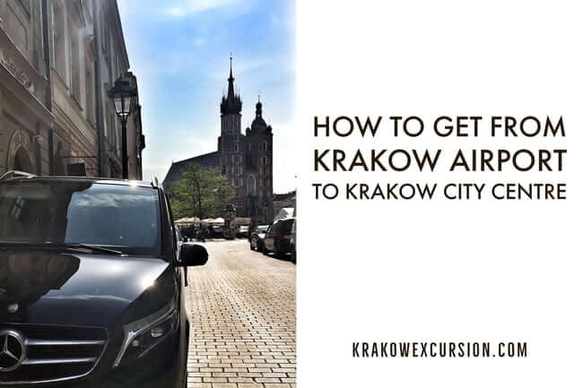 How to get from Krakow airport to Krakow city center